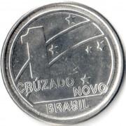 Бразилия 1989 1 крузадо 100 лет Республике