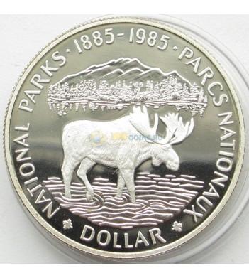 Канада 1985 1 доллар Лось