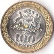 Чили 2006 100 песо