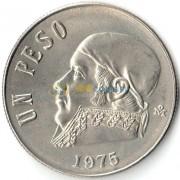 Мексика 1975 1 песо Хосе Морелос