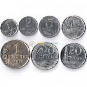 Бразилия 1969-1978 Набор 7 монет