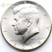 США 2018 50 центов Кеннеди D