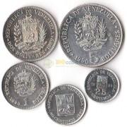 Венесуэла 1988-1990 набор 5 монет