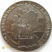 Куба 1998 1 песо Выставка Ганновер