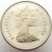 Канада 1985 1 доллар Каноэ
