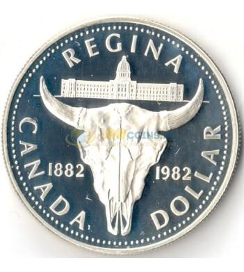 Канада 1982 1 доллар Реджайна (proof)