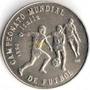 Куба 1989 1 песо Футбол Италия