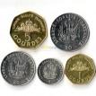 Гаити 1995-2011 набор 5 монет