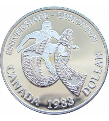 Канада 1983 1 доллар Универсиада в Эдмонтоне