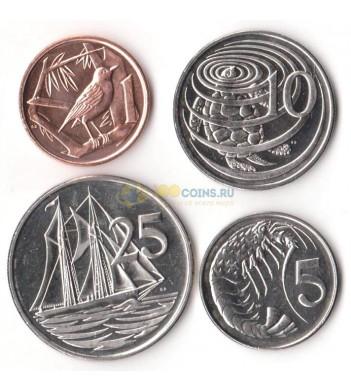 Каймановы острова 1999-2013 набор 4 монеты