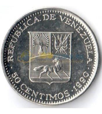 Венесуэла 1990 50 сентимо