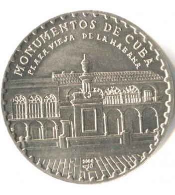 Куба 2004 1 песо Старая площадь в Гаване