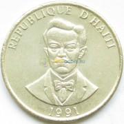 Гаити 1991 20 сантимов Шарлемань Перальт