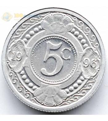 Нидерландские Антилы 1996 5 центов