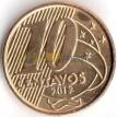 Бразилия 1998-2020 10 сентаво