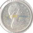 Канада 1967 10 центов 100 лет Конфедерации рыба (серебро)