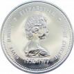 Канада 1977 1 доллар 25 лет правления