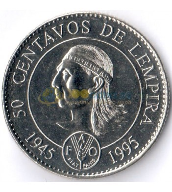 Гондурас 1994 50 сентаво ФАО
