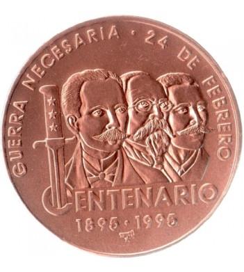 Куба 1995 1 песо 100 лет войне за независимость Кубы
