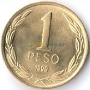 Чили 1990 1 песо