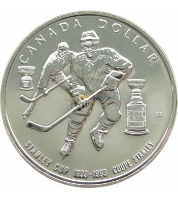 Канада 1993 1 доллар Кубок Стенли хоккей