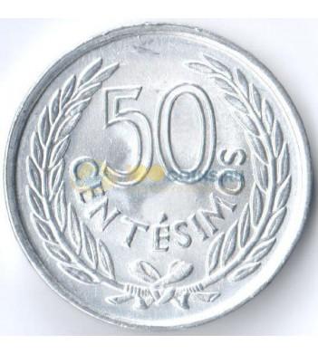 Уругвай 1965 50 сентимо