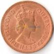 Восточные Карибы 1964 1 цент