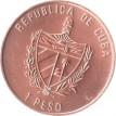 Куба 1994 1 песо 500 лет открытия острова Евагелиста