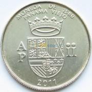 Панама 2011 1/2 бальбоа Герб 1580