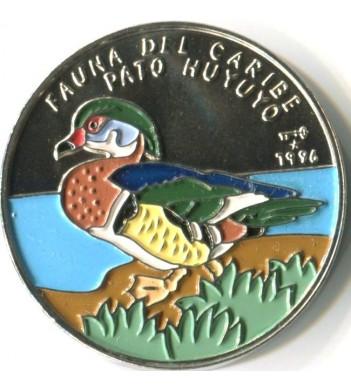 Куба 1996 1 песо Каролинская утка