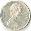 Канада 1967 1 доллар 100 лет Конфедерации (серебро)
