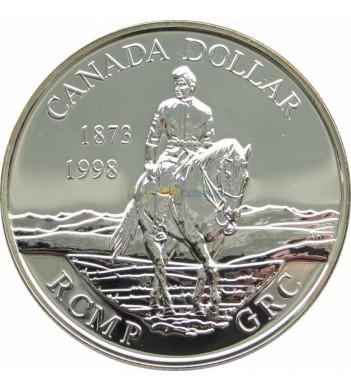 Канада 1998 1 доллар Королевская конная полиция
