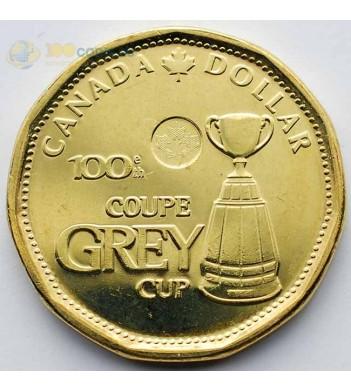 Канада 2012 1 доллар Сотый кубок Грея