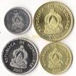 Гондурас 1999-2006 набор 4 монеты