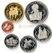 США 2017 набор 6 монет резервация Кроу