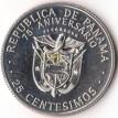 Панама 1978 25 сентесимо Юсто Аросемена