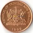 Тринидад и Тобаго 1999 1 цент Колибри