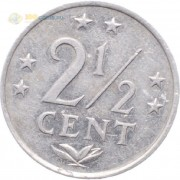 Нидерландские Антилы 1979-1985 2 1/2 цента