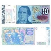 Аргентина бона (325) 10 аустрал 1985-89