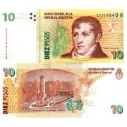 Аргентина бона (354) 10 песо 2003-2016