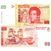 Аргентина бона (355) 20 песо 2003-2016