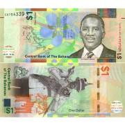 Багамские острова бона (077) 1 доллар 2017