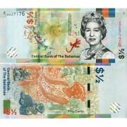 Багамские острова бона 1/2 доллара 2019