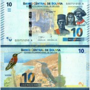 Боливия бона (248) 10 боливиано 2018