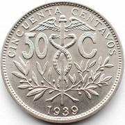 Боливия 1939 50 сентаво
