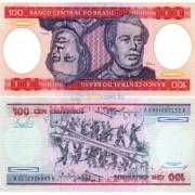 Бразилия бона (198b) 100 крузейро 1984