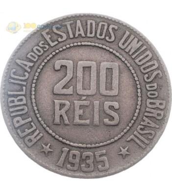 Бразилия 1935 200 рейсов