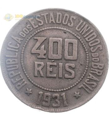 Бразилия 1931 400 рейсов