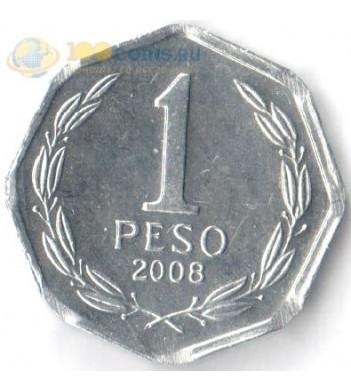 Чили 1992-2015 1 песо