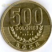 Коста-Рика 2015 500 колон